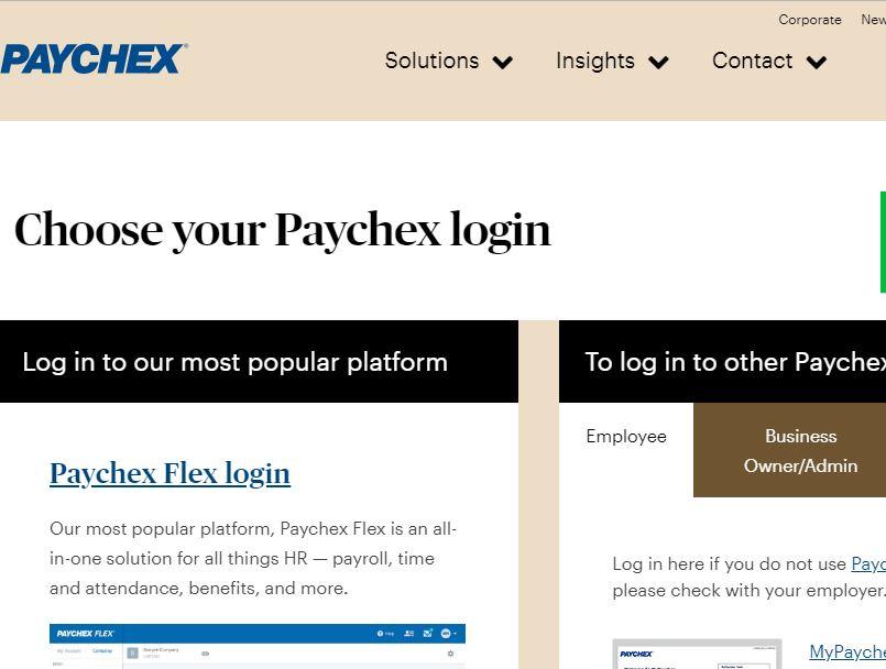 Paychexflex Com